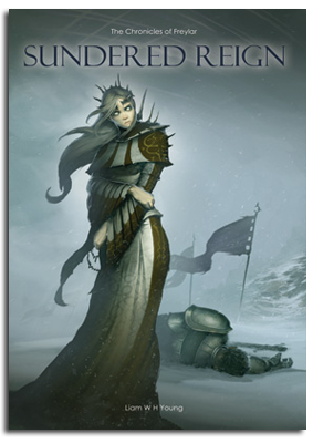 Sundered Reign book cover