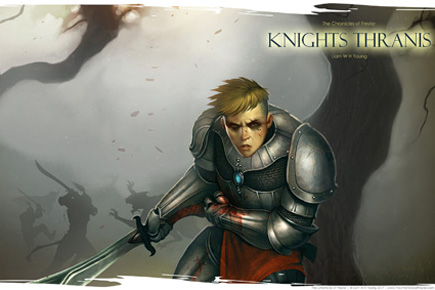 Knights Thranis wallpaper digital art by Hardy Fowler